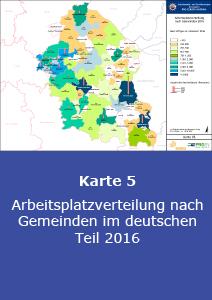 Arbeitsplatzverteilung Deutschland 2016