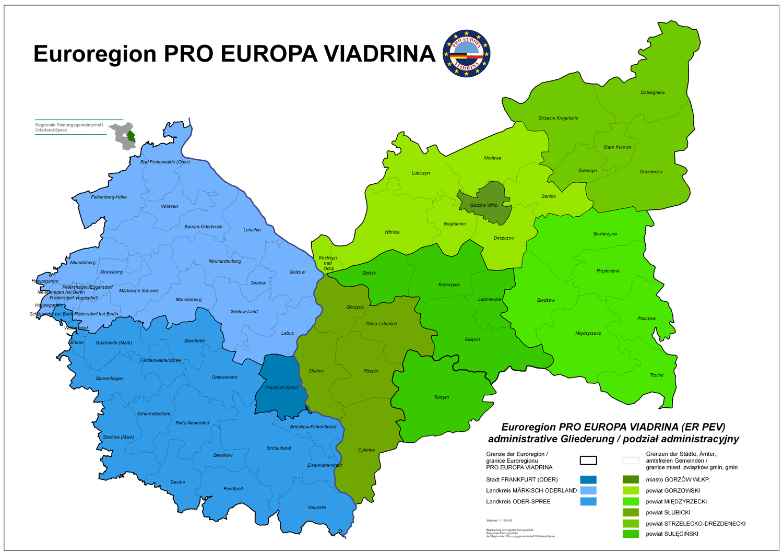 euroregion viadrina administrative gliederung