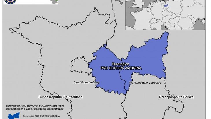 euroregion viadrina geografische lage europa